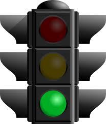 stop light green