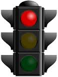 stop light red