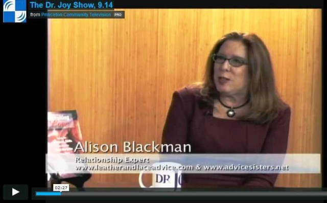 alison blackman on the dr. joy show