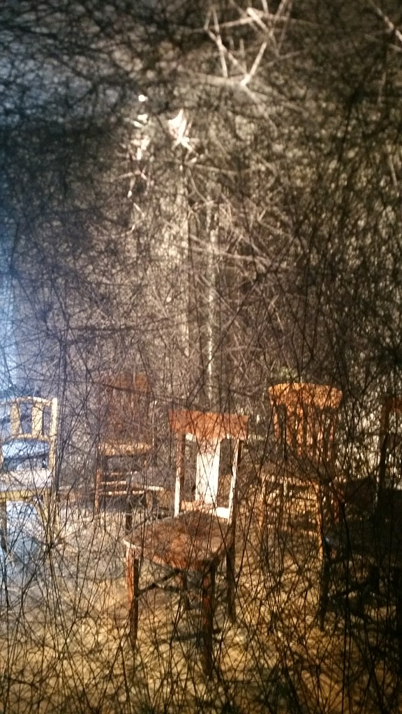 Traces of Memory by Chiharu Shiota