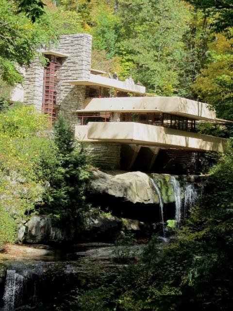 classic shot of fallingwater