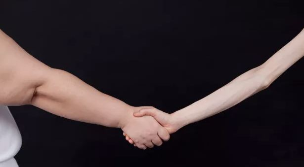 thin and fat hands relationship issues