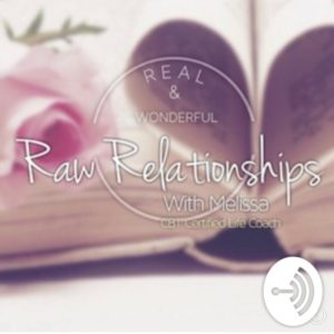 melissa walker raw relationsips podcast logo